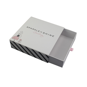 White gift packaging sweet rigid paper candy box
