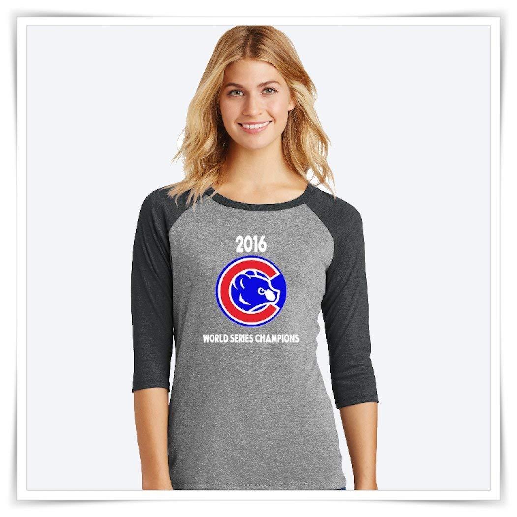 bfbc5c5c373 Baseball Shirt. Chicago Cubs Shirt. 2016 Cubs World Series Champions.