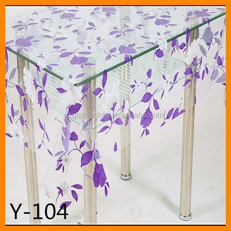 glitter plastic beaded embroidery tablecloth