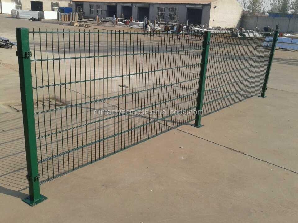 Doppel Maschendrahtzaun/pvc-beschichtetes Twin Wire 868 Zaun Panel ...