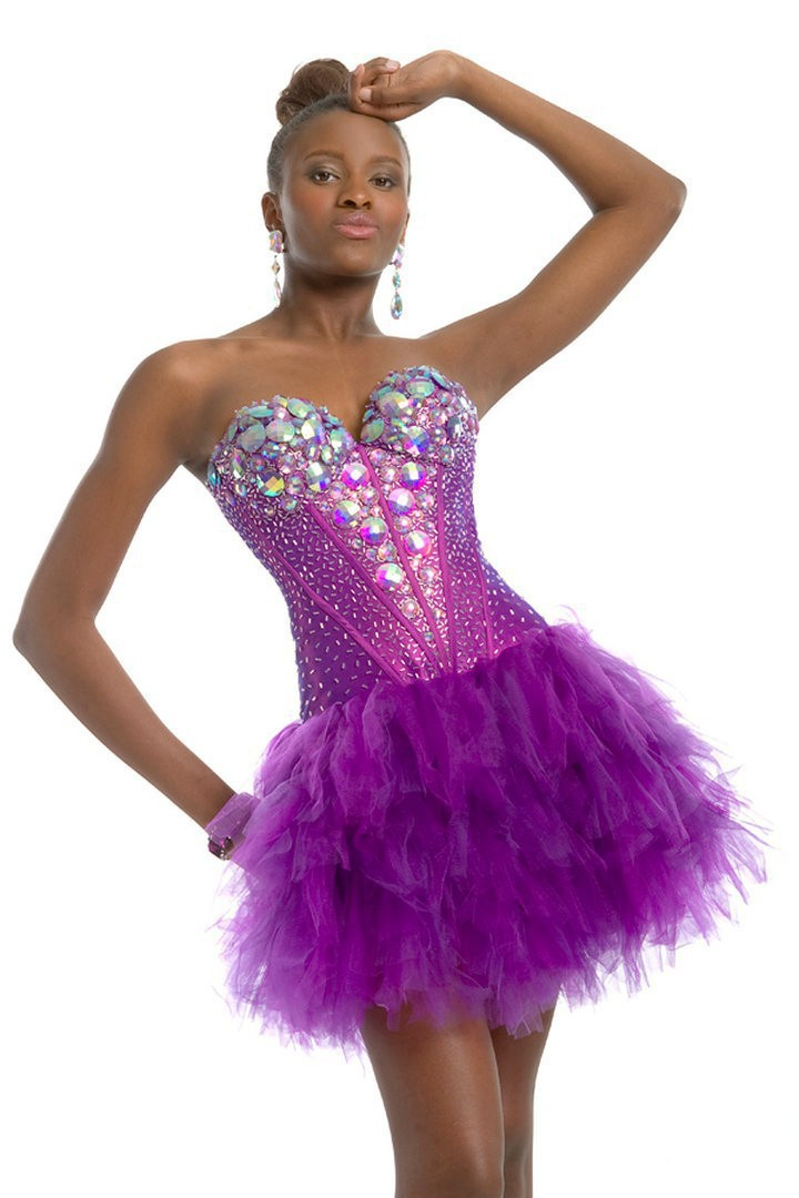 6d17f5f4c9b Get Quotations · 2015 Homecoming Dresses Gown Vestido Elegant Tulle  Rhinestone Dresses for Juniors Beaded Mini 8th Grade Graduation