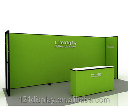 Simple Exhibition Stand : Cheaper simple exhibition booth design in standard accessories buy