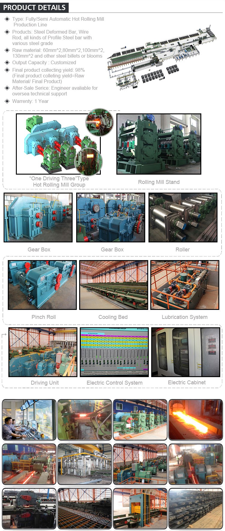Mini Rolling Mill Equipment