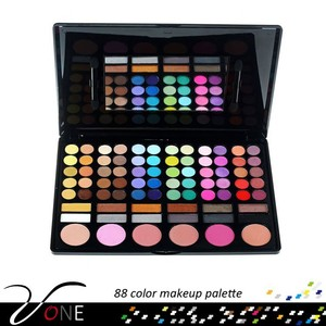 Trade Assurance 78 Colour Eyeshadow Eye Shadow Palette Makeup Kit Set Make Up Box with Mirror