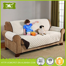 Quilted Sofa Covers Microfiber Furniture Protector for Kids and Pet Dog