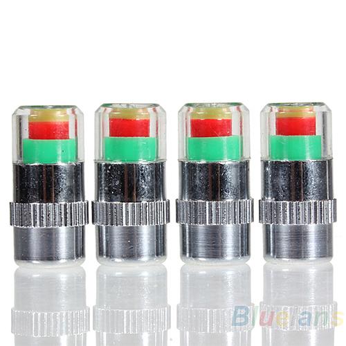 4 шт. авто давления в шинах монитор клапана шапки датчика индикатор глаз-оповещения диагностические инструменты 02HN 2ZR4