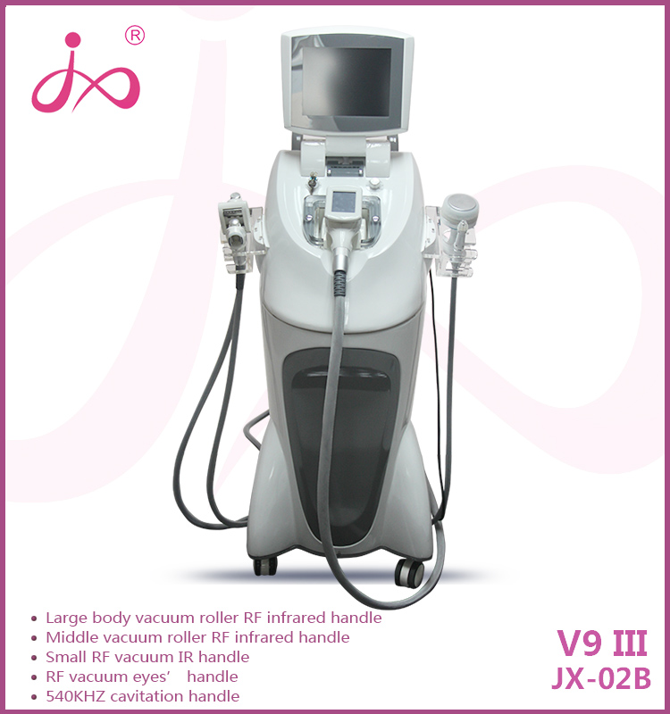 2016 Power shape! Effective velasmooth velashape machine / velashape slimming machine / body slimming machine (body, face, eyes)