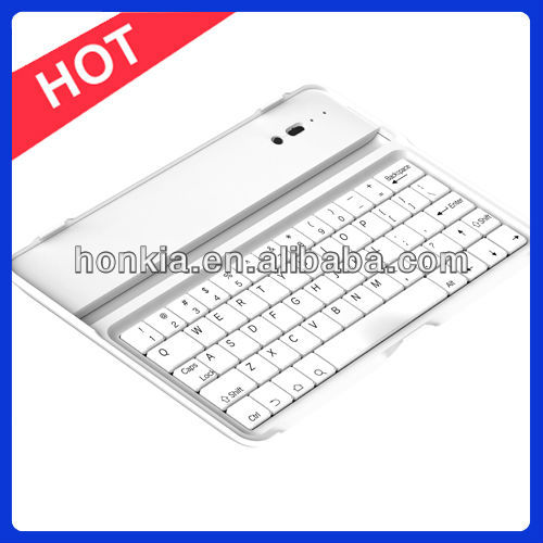 Lowest Price Blutooth Mini Keyboard for Ipad MINI with Germany, Italy, Russian and Multi Language