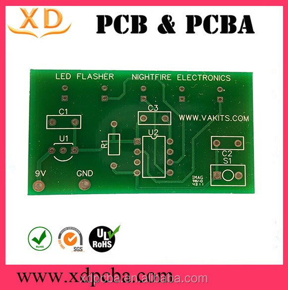 Immersion Gold aluminum plate/Aluminum based LED Light PCB supplier in china alibaba
