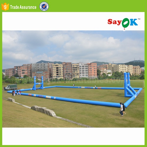 new adult inflatable water soccer field for sale mini inflatable football pitch