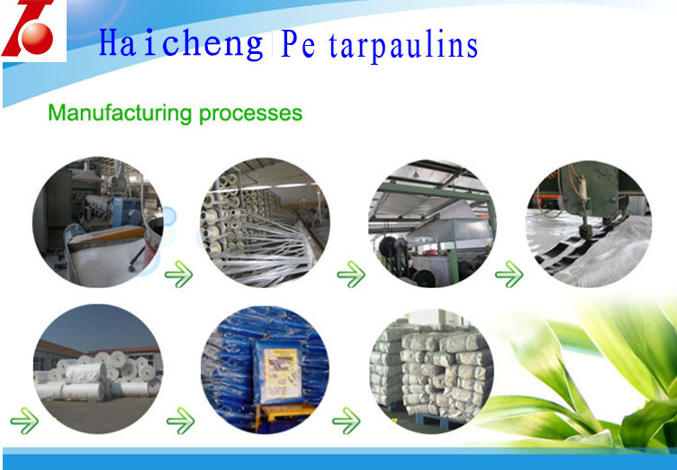 China Supplier of Waterproof Plastic Sheet Cover PE Tarpaulin Material