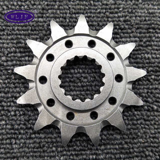 selfclean lightweight steel driving motorcycle sprocket with groove