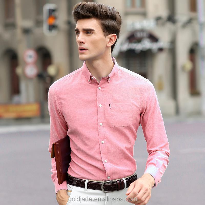 Cheap pink dress shirts for men