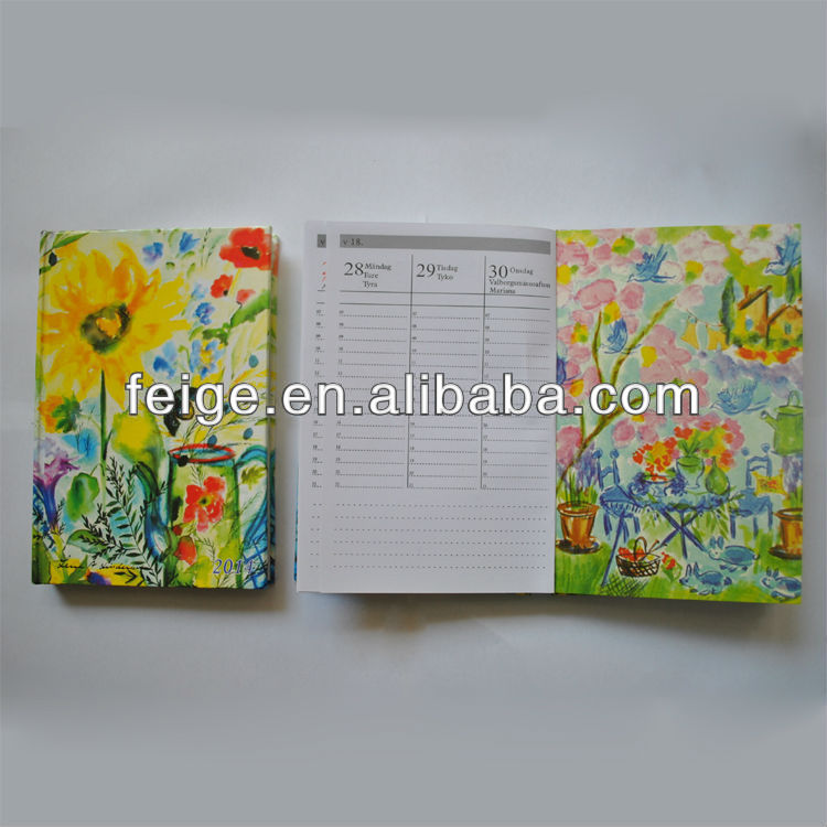 Promotional Hardcover Diary Notebook