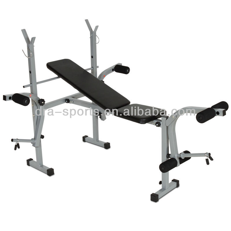 Plegable de levantamiento de pesas de banco de la m quina for Productos gimnasio