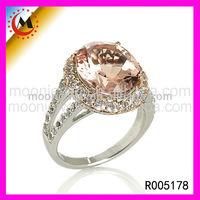 Premier Ring,Pale Lavender Color Ring,Big Gemstone Silver 925,bangkok 925 sterling silver jewellery