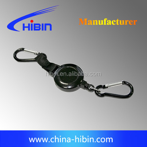 SAFETY KNIFE FLEXI COIL LANYARD, KEY CHAIN,HEALTH AND SAFETY, NEVER LOOSE IT HB5112P