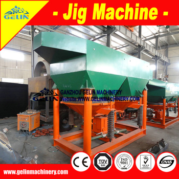 Competitive Price mineral gravity separtion machine Gravity Mineral Jig concentrator