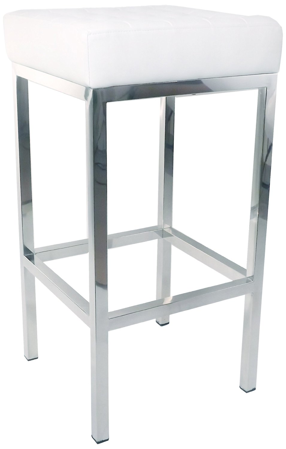 Control Brand FH-K2 WHITE The Florence Tufted Stool
