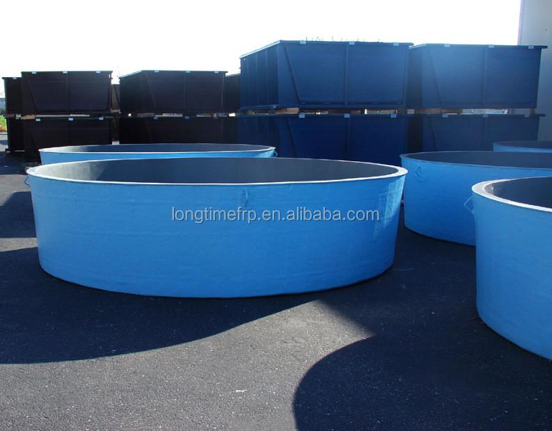 Fiberglass fish breeding stock farming tanks buy used for Used fish tanks for sale many sizes