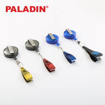 Paladin Stainless Steel Fly Fishing Line Nippers / Clippers with Retractable Line Zinger Fish Tackle Tools