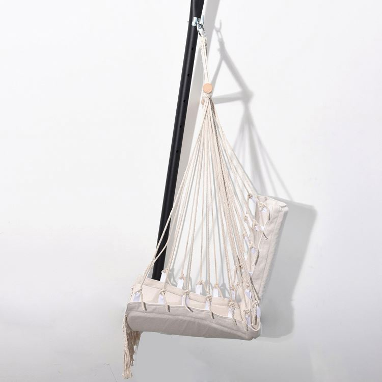 Backpacking Canvas lounger hanging stand hiking hammocks parachute hammock chair