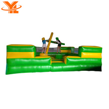 Inflatable Gladiators Intelligent Interactive Games ,Bouncing House for Sale