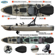 The Top Design Single Fishing Kayak For Sale