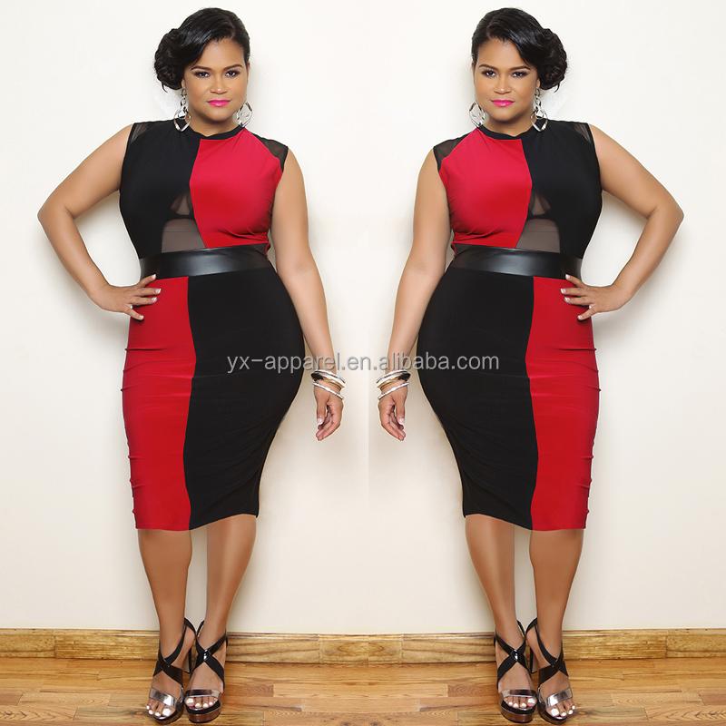 Womens Plus Size Dresses Sexy Fashion Bandage Dress Womens Clothing