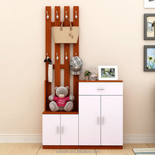Chinese hot sale furniture hallway with shoe cabinet