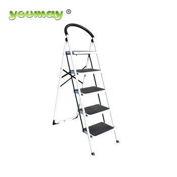 Outstanding Mobile Detachable Stainless Steel Folding Step Stool 5 Step Ladder Buy Steel Folding Step Stool Stainless Steel Folding Step Ladder 5 Step Steel Squirreltailoven Fun Painted Chair Ideas Images Squirreltailovenorg