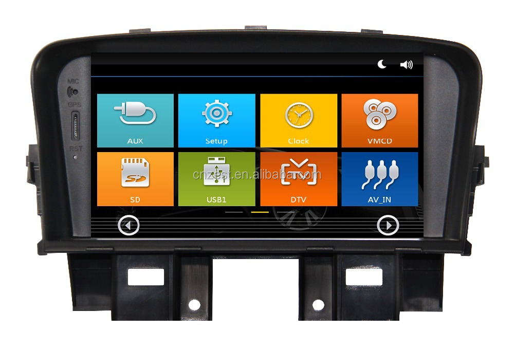 For Chevrolet Cruze Touch Screen Car Dvd Player With Car Music Systemcar Radioaudiogpsbtswcdtvatv3gwifidvr Buy Touch Screen Car Dvd Player