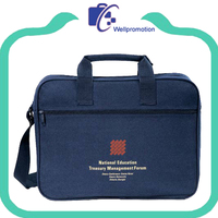 polyester men travel laptop computer messenger bag
