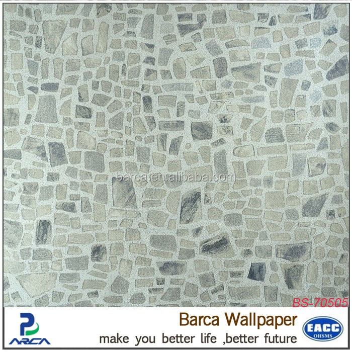 Moderne 3d Marbre Papier Peint Toilette Papier Peint Lavable Papier