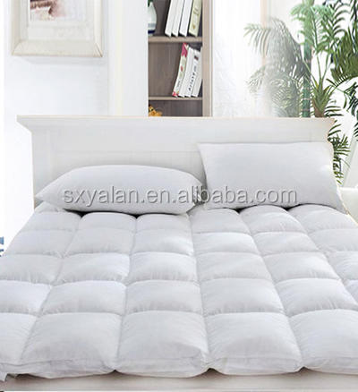 Wholesale mattress topper down feather bed for star hotel