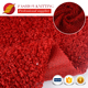comfortable weft knitted 100 poly brushed hacci knit fabric