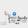 Y1WTD Small semi-automatic high viscosity juice milk oil water bottle honey detergent liquid filling machine