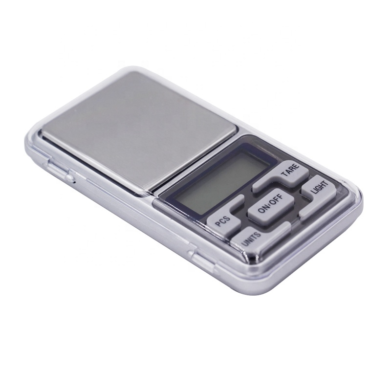 Digital Pocket scale 500 g 0.1 g electronic handy weighing balance for sterling silver jewelry LCD display with backlight