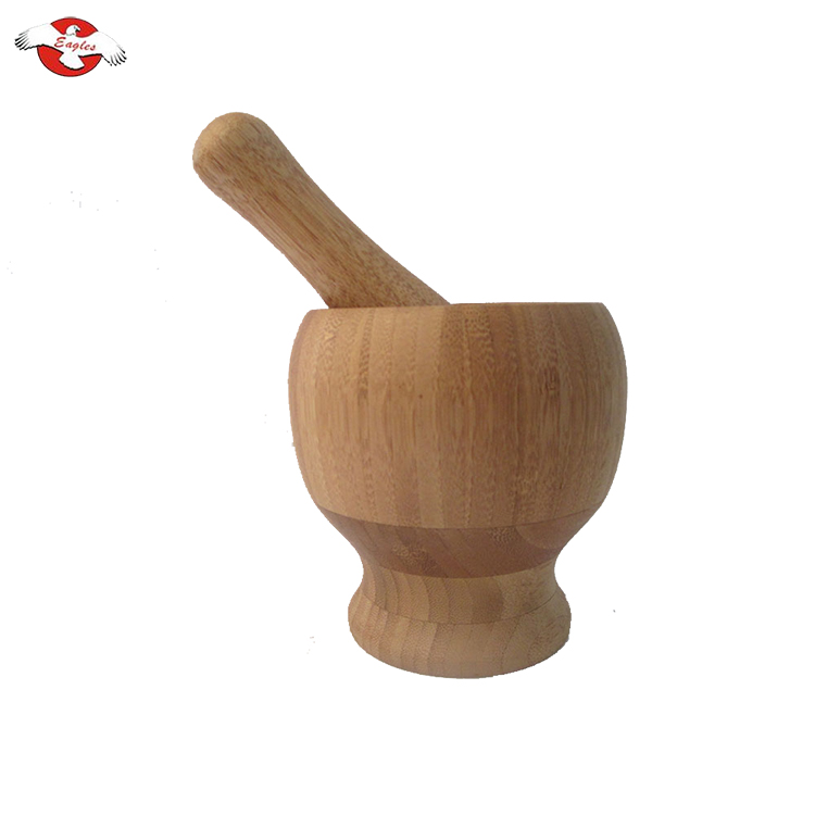 Mortero Y Maja Bamboo