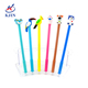 Silicone animal topper ball pen for promotion