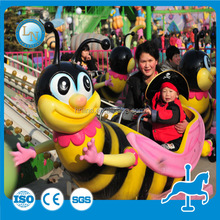 Hot sale park rotary bee ride ! Children ride machine for export