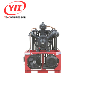 High Pressure water cooled air compressor 32CFM 1015PSI 20HP 0.9m3 70bar 15kw