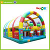 inflatable jumping castle bouncer combo printing available customized