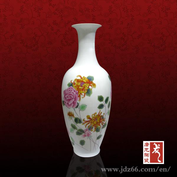 Dise os de la pintura de flores florero de cer mica for Disenos de jarrones