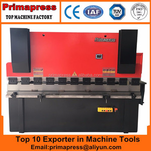 Stable quality WC67Y- 40 ~ 160T / 2500 ~ 4000mm metal plate hydraulic bending machine automatIve parts