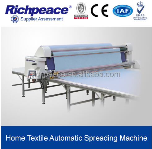 Automatic Garment or Hometextile Fabric Spreading Machine