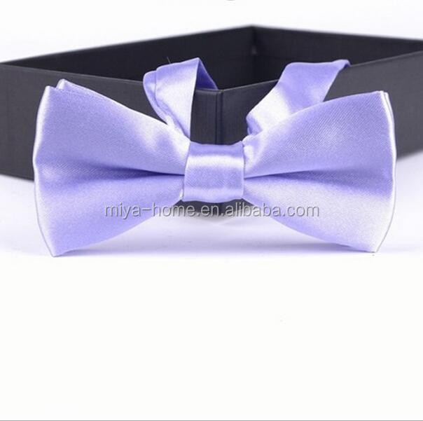 Hot selling male solid color marriage bow ties / candy color butterfly cravat bow tie butterflies for men