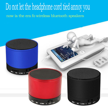 Metal Wireless Cylinder Mini Bluetooth Speaker S10 For Iphone