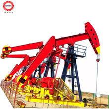 Chinese Suppliers Diving Wells Production Machinery Conventional Donkey Head Walking Beam Pumping Unit