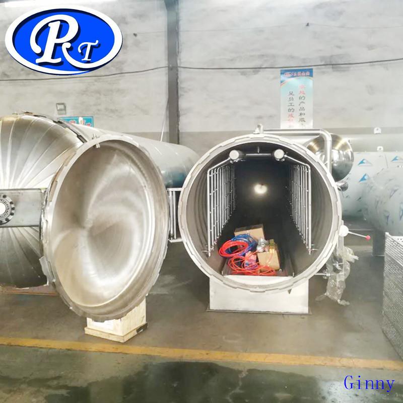 Yatay Konserve Balık Macun Ürünleri sterilizasyon imbik makinesi